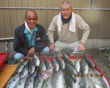 奥村釣船の2019年11月19日(火)1枚目の写真
