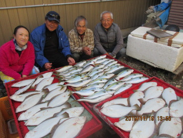 奥村釣船の2019年11月19日(火)2枚目の写真