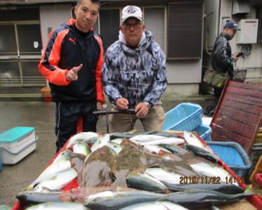 奥村釣船の2019年11月22日(金)1枚目の写真