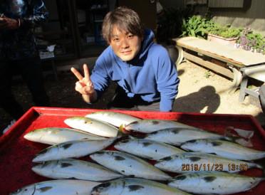 奥村釣船の2019年11月23日(土)1枚目の写真