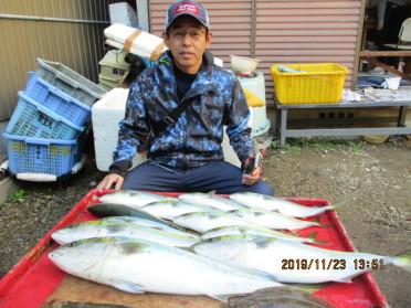 奥村釣船の2019年11月23日(土)2枚目の写真