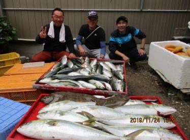 奥村釣船の2019年11月24日(日)2枚目の写真