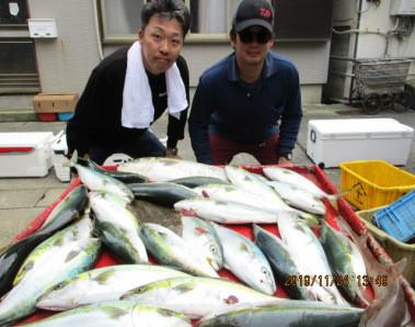 奥村釣船の2019年11月24日(日)3枚目の写真