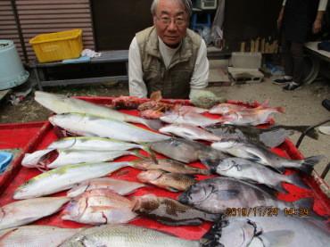 奥村釣船の2019年11月24日(日)4枚目の写真