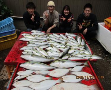 奥村釣船の2019年11月25日(月)1枚目の写真