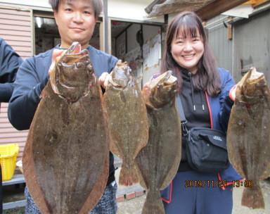 奥村釣船の2019年11月25日(月)2枚目の写真