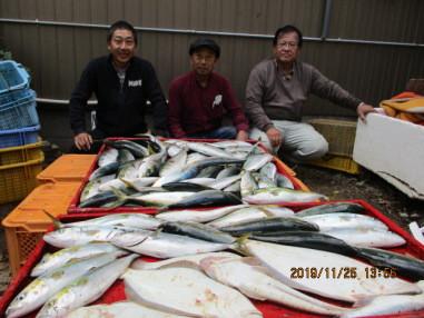 奥村釣船の2019年11月25日(月)4枚目の写真