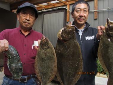 奥村釣船の2019年11月25日(月)5枚目の写真