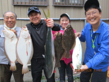 奥村釣船の2019年11月26日(火)1枚目の写真