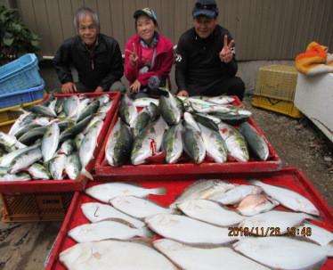 奥村釣船の2019年11月26日(火)3枚目の写真