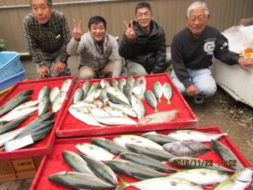奥村釣船の2019年11月26日(火)5枚目の写真