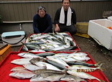 奥村釣船の2019年11月27日(水)2枚目の写真