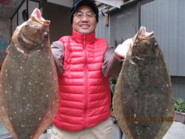 奥村釣船の2019年11月28日(木)2枚目の写真