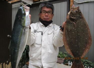奥村釣船の2019年11月28日(木)3枚目の写真