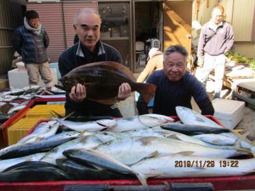 奥村釣船の2019年11月29日(金)2枚目の写真