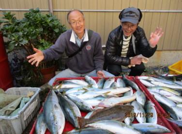 奥村釣船の2019年11月29日(金)3枚目の写真