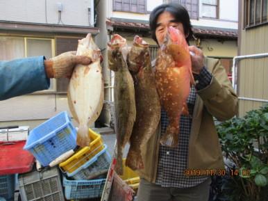 奥村釣船の2019年11月30日(土)1枚目の写真