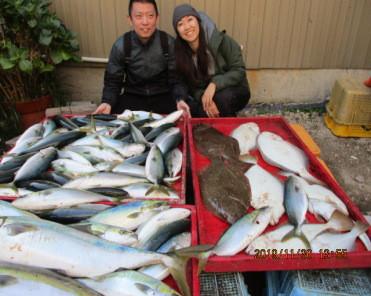 奥村釣船の2019年11月30日(土)2枚目の写真