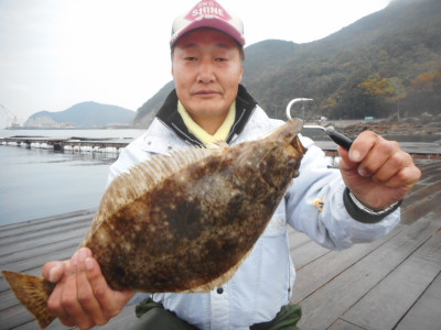 由良海つり公園&釣堀ランドの2019年12月18日(水)1枚目の写真