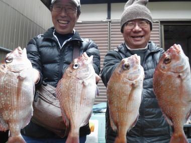 奥村釣船の2019年12月18日(水)1枚目の写真