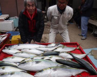 奥村釣船の2019年12月19日(木)2枚目の写真