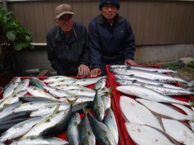 奥村釣船の2019年12月19日(木)4枚目の写真