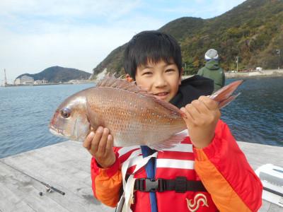 由良海つり公園&釣堀ランドの2019年12月21日(土)1枚目の写真