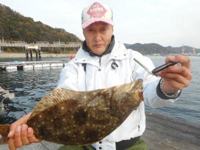 由良海つり公園&釣堀ランドの2019年12月21日(土)2枚目の写真