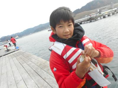 由良海つり公園&釣堀ランドの2019年12月21日(土)3枚目の写真