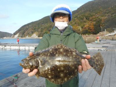 由良海つり公園&釣堀ランドの2019年12月21日(土)4枚目の写真