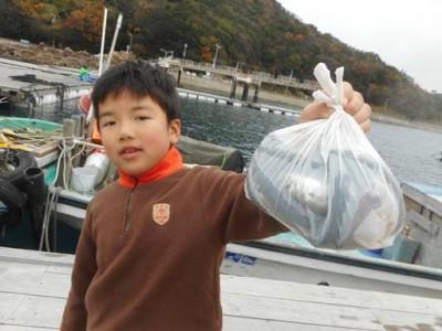 由良海つり公園&釣堀ランドの2019年12月22日(日)1枚目の写真