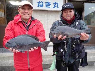 なぎ丸渡船の2019年12月22日(日)2枚目の写真
