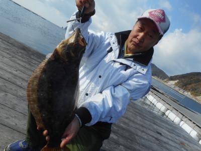 由良海つり公園&釣堀ランドの2019年12月23日(月)1枚目の写真
