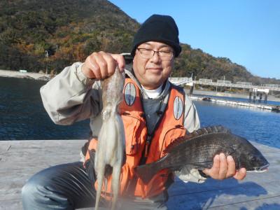 由良海つり公園&釣堀ランドの2019年12月23日(月)2枚目の写真