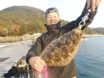 由良海つり公園&釣堀ランドの2019年12月24日(火)1枚目の写真