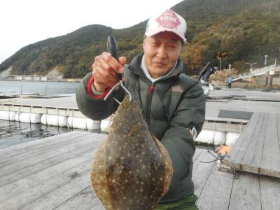 由良海つり公園&釣堀ランドの2019年12月24日(火)2枚目の写真