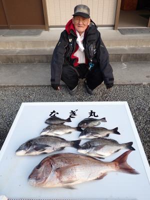 なぎ丸渡船の2019年12月25日(水)2枚目の写真