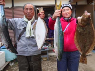 奥村釣船の2019年12月24日(火)2枚目の写真