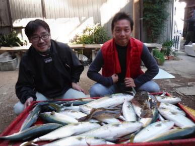 奥村釣船の2019年12月25日(水)3枚目の写真