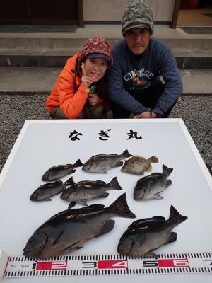 なぎ丸渡船の2019年12月29日(日)2枚目の写真