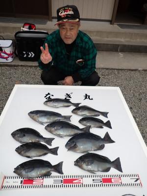 なぎ丸渡船の2019年12月29日(日)3枚目の写真
