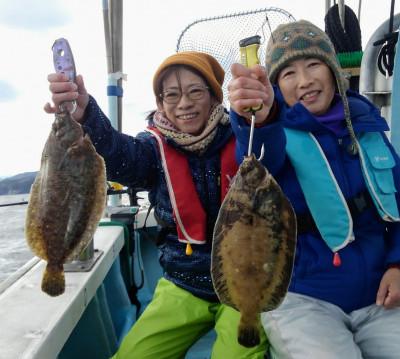 佐々木釣具店 平進丸の2020年1月4日(土)1枚目の写真