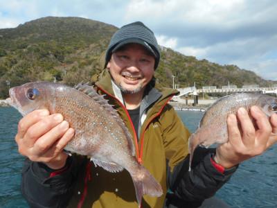 由良海つり公園&釣堀ランドの2020年1月13日(月)1枚目の写真
