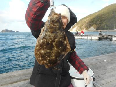 由良海つり公園&釣堀ランドの2020年1月13日(月)2枚目の写真