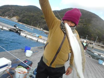 由良海つり公園&釣堀ランドの2020年1月13日(月)3枚目の写真