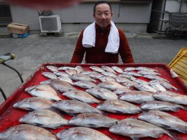 奥村釣船の2020年1月21日(火)1枚目の写真