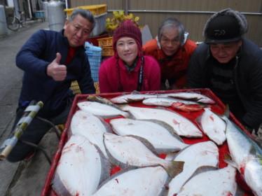 奥村釣船の2020年1月21日(火)4枚目の写真