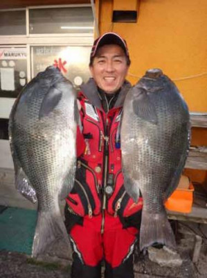 丸銀釣りセンターの2020年1月19日(日)3枚目の写真
