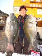 丸銀釣りセンターの2020年1月19日(日)4枚目の写真