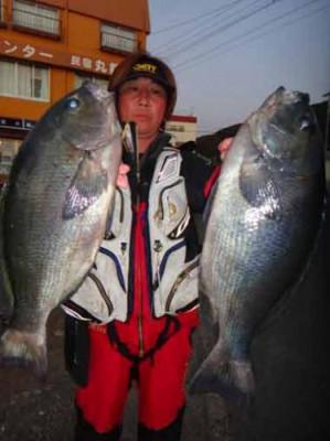 丸銀釣りセンターの2020年1月21日(火)1枚目の写真